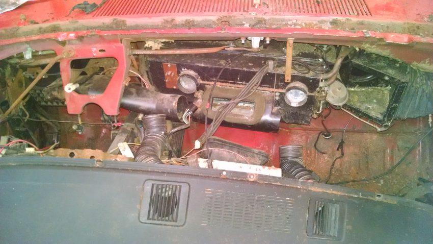 Auto Restoration Tools-Homemade Dash Frame Holder for 1966-1970