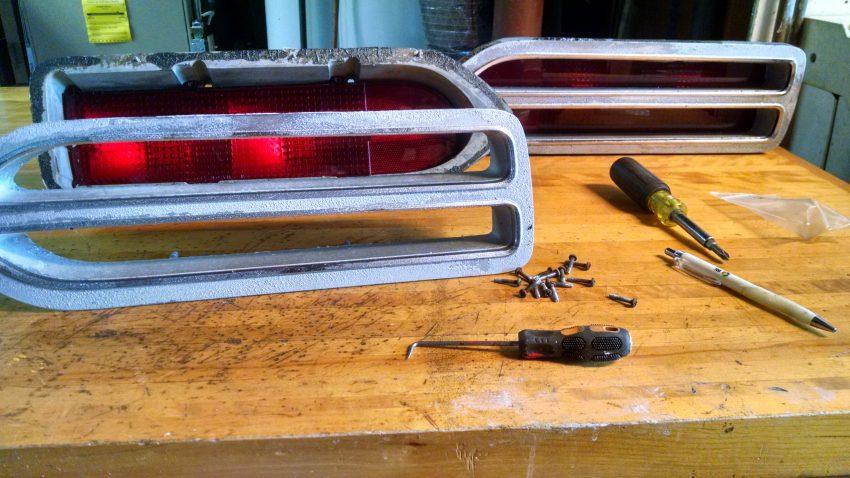 Tail Light Lens Restoration - My 10 easy steps! - MOPAR